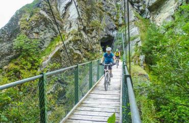 Biker im Wallis