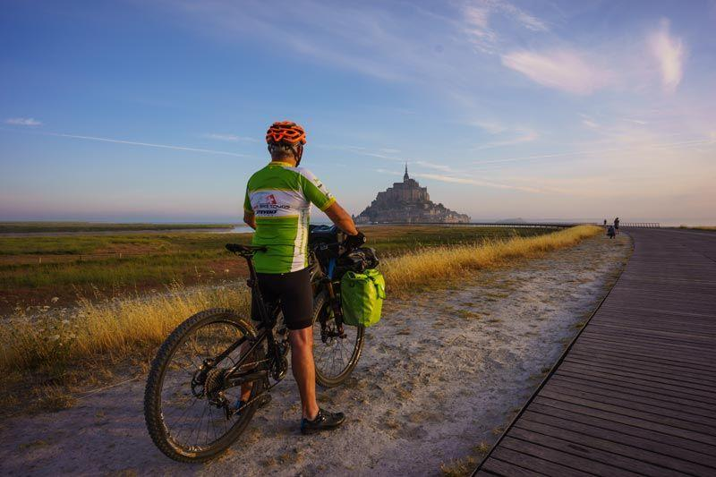 Normandie - Bretagne Langstrecken-Bike-Tour