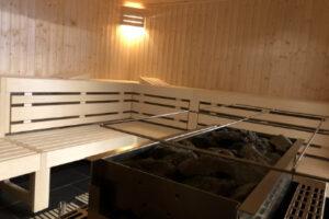 Enduro Fahrtechnik Weekend Sauna Bereich