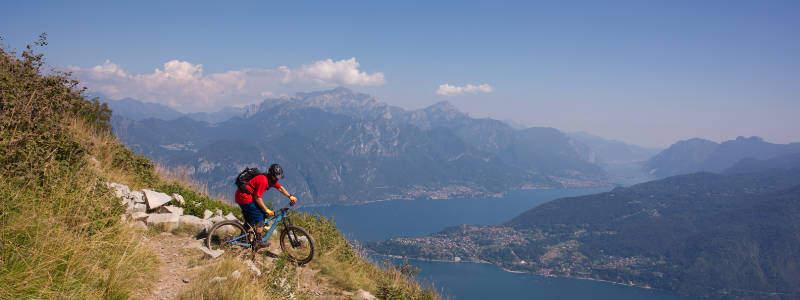 Biker im Süd Tessin
